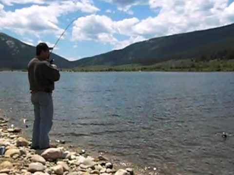 Taylor park colorado reservoir fishing july 2009 youtube for Colorado out of state fishing license