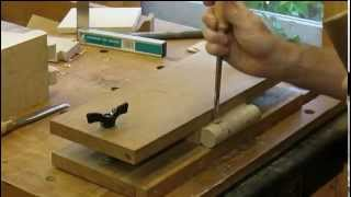 Townsend Card Table   Knuckle Joint Step 22