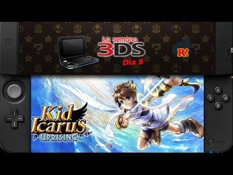 LA SEMANA 3DS: Día 5: Kid Icarus: Uprising