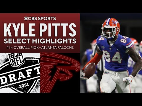 Kyle Pitts: Select Highlights | 4th Overall Pick | 2021 NFL Draft | CBS Sports HQ