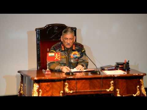 Army Chief General Bipin Rawat Press Conference: Part-I of VI