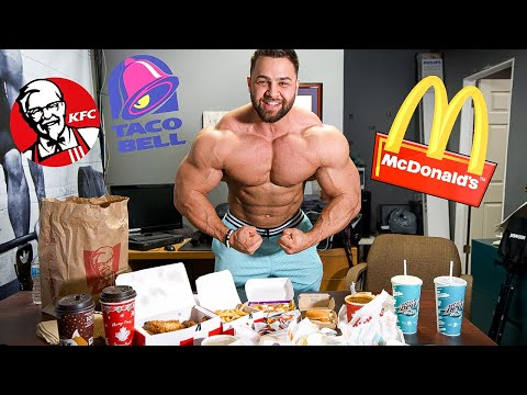 Letting Fast Food Employees DECIDE What I Eat | Arm Workout