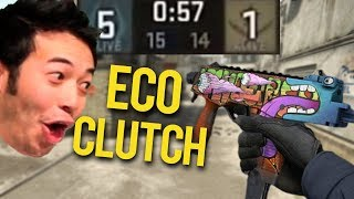 DRAKEN INSANE 1 VS 5 ECO CLUTCH! KIO DEAGLE 4K! BEST OF TWITCH CS:GO #359