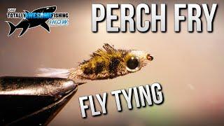Fly Tying a Floating Perch Fry | TAFishing