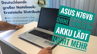ASUS N76VB ohne Funktion - Akku lädt nicht mehr