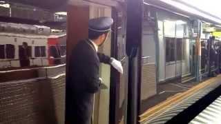 2014.5.22 両毛線E655系お召し列車(御乗用列車)桐生駅発車シーン