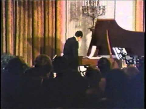 "Richard Nixon sings  (and plays)  ""HAPPY BIRTHDAY"" to DUKE ELLINGTON at the White House"