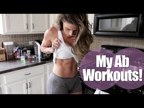 My Preferred Ab Workouts For A Flat Tummy | Diastasis Recti | Ab Separation Vlog 155
