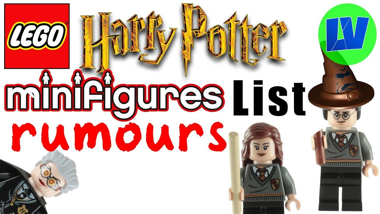 Lego Harry Potter Rumoured Collectible Minifigure List For 2018 Youtube