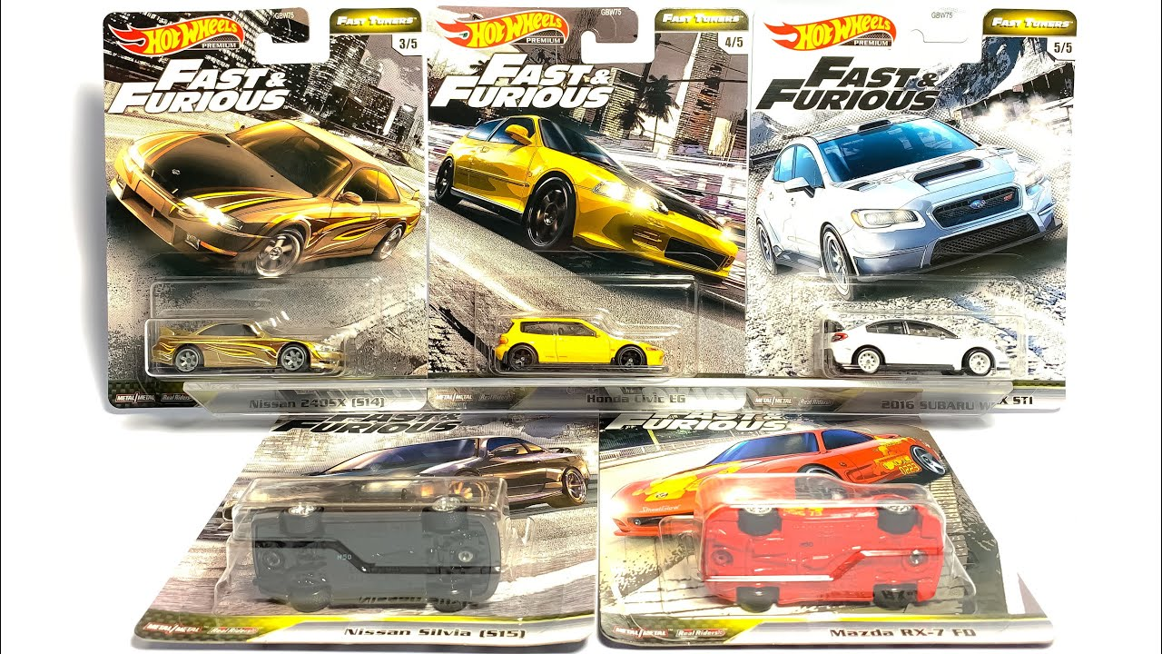 Hot Wheels Fast and Furious Fast and Furious Vehicle