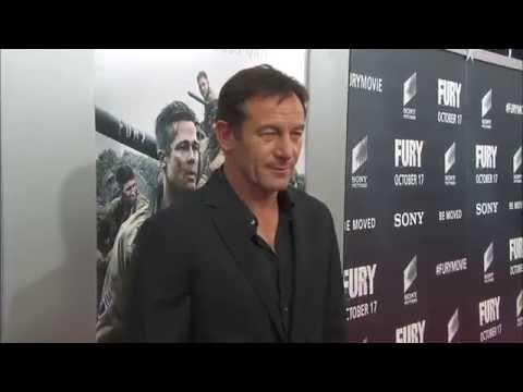 Fury: Washington DC Movie Premiere Arrivals - Brad Pitt, Log