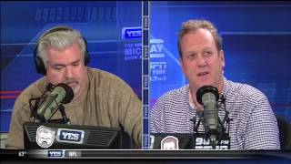 Michael Kay dyes his hair