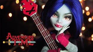 Marceline (Adventure Time) | Custom MH Doll Repaint | Mozekyto #4