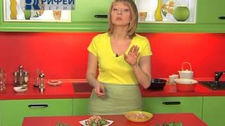 Что Есть   Салат с креветками и грейфрутом 06 03 2014