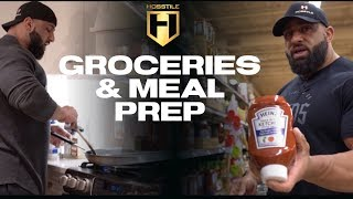 MUSCLE BUILDING MEALS | Groceries & Meal Prep