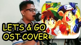 """LET'S & GO Theme Song   """"Winning Run""""  Cover By  Harry Veego (Indonesian Version)"""