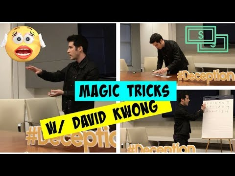 Magic Tricks From David Kwong: Magician From Deception
