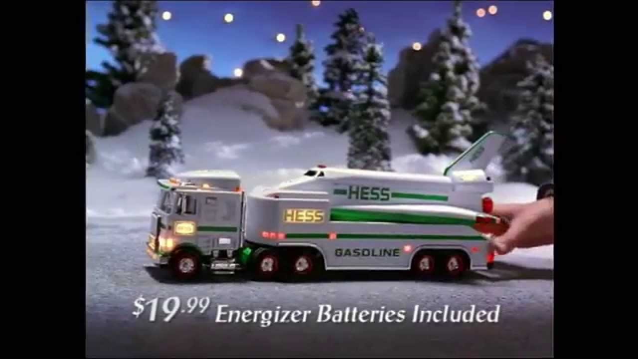 1999 Hess Toy Truck Commercial - YouTube