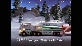 1999 hess toy truck commercial