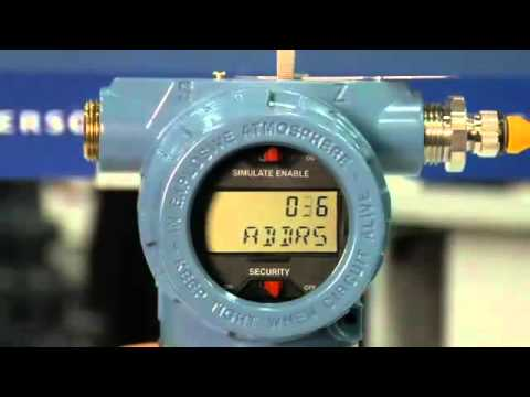 Rosemount 3051 Profibus Pressure Transmitter Making Configuration