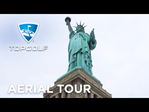 Topgolf Edison, New Jersey | Aerial Tour | Topgolf