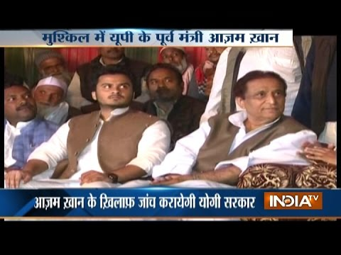 UP: Azam Khan accused of selling 'waqf' property