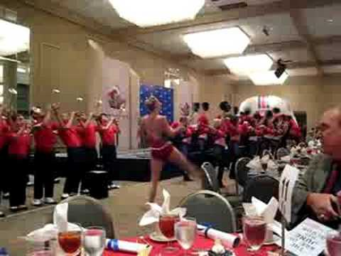 SMU Mustang Band Plays 'Pony Battle Cry!'