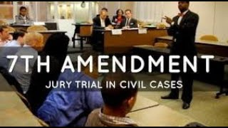 Seventh Amendment - Civil Jury Trials, Meaning of Patriotism, & More!  Save Our Republic! #61