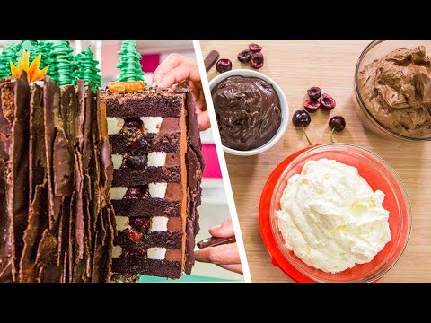 amazing-5-layer-black-forest-cake-|-more-quarantine-baking-|-how-to-cake-it-step-by-step