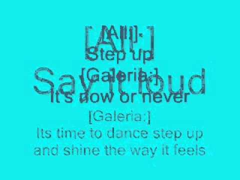 Cheetah Girls  Step Up Lyrics