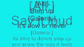 Cheetah Girls - Step Up Lyrics