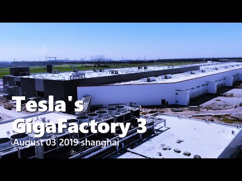 Tesla Gigafactory 3 gets 'Space Odyssey Monolith-esque tower amid continued buildout