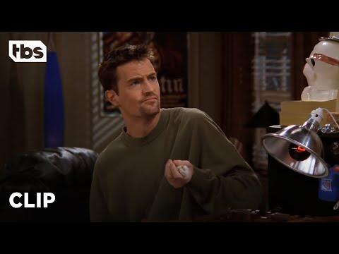 Friends: Chandler and Joey Raise a Baby Chick (Season 3 Clip)   TBS