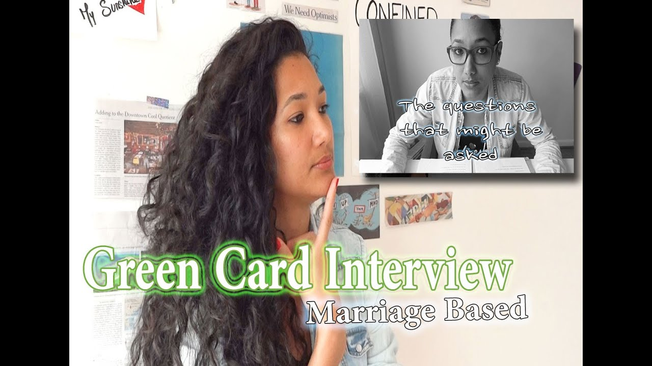 Questions USCIS will ask? Interview Marriage Green Card Part 2/3 ...