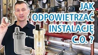 Jak odpowietrzyć instalację ogrzewań wodnych za pomocą odpowietrzników automatycznych? AFRISO