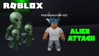 Roblox Alien Attack | Full PlayThrough + Ending ( New Camping Game )