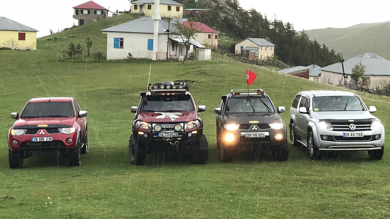 Isuzu DMAX vs Mitsubishi L200 vs Nissan Navara vs Hilux  // The BETTER ??? OFF ROAD @TURKIYE