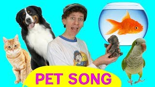 Pet Song for Kids | Animal Songs | Sing and Move | Learn English Kids