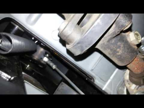 Замена троса сцепления ВАЗ 2110