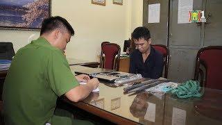 Công an quận Cầu Giấy bắt đối tượng trộm tài sản cửa hàng cầm đồ | Tin nóng | Tin 141