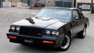 1987 Buick Regal Grand National T-Type WE4 Turbo Burn Out