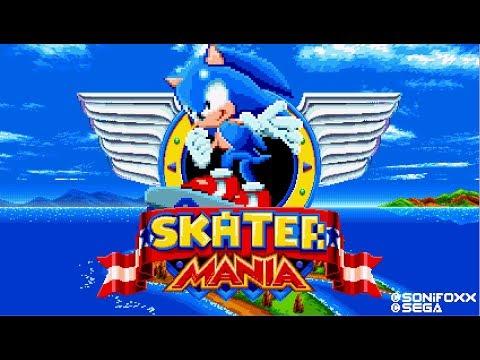 Sonic Mania Mod - Skater Mania