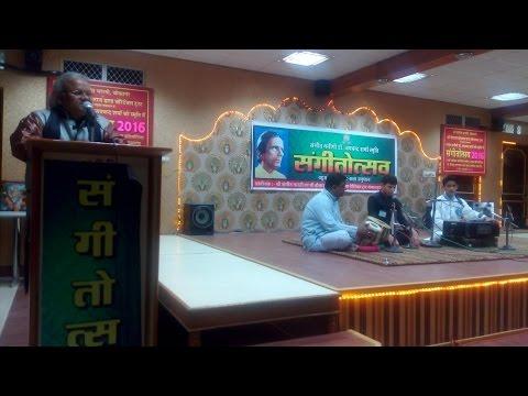 Speech On Morning Vocal Riyaz at Bikaner by Pandit Avadhkishor Pandey | Music Learning Tips