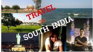 || TRAVEL TO SOUTH INDIA - FIRST LOOK || CHENNAI || PONDYCHERRY || TIRUPATI || HYDERABAD || VIZAG ||