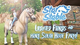 Updated Fjords & more South Hoof Farm! | Star Stable Updates