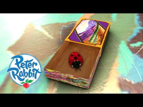 #Summer ☀️ Peter Rabbit - Florence the Pet Ladybird   Cartoons for Kids