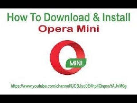 How To Download & Install Opera Mini In PC II Windows 7/8.1/10 II 2019