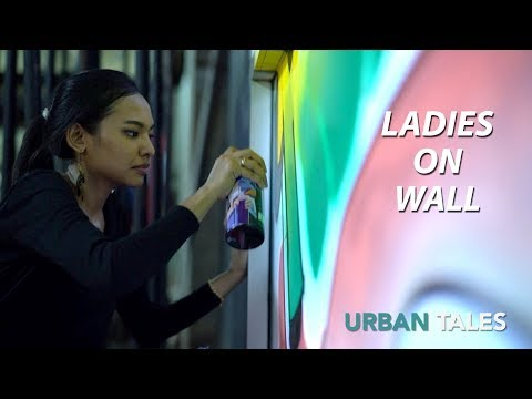 Jakarta | Ladies on wall
