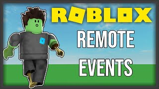 [ROBLOX] - Remote Events Tutorial! - Properly Use Filtering Enabled!
