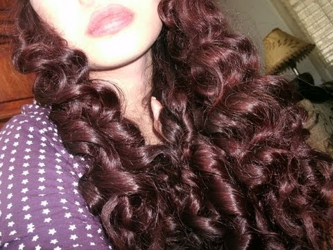 New No Heat Curly Wavy Hair Tutorial No Products No Curlers No